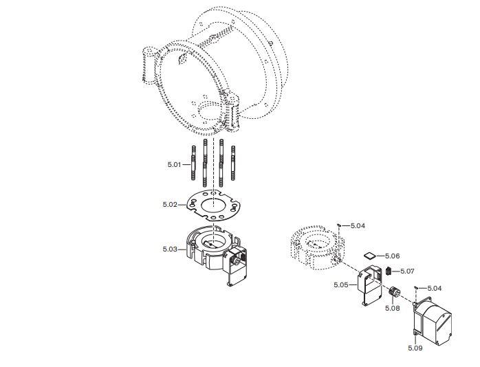 Газовая горелка Weishaupt WM-GS 30/3-A ZM-R