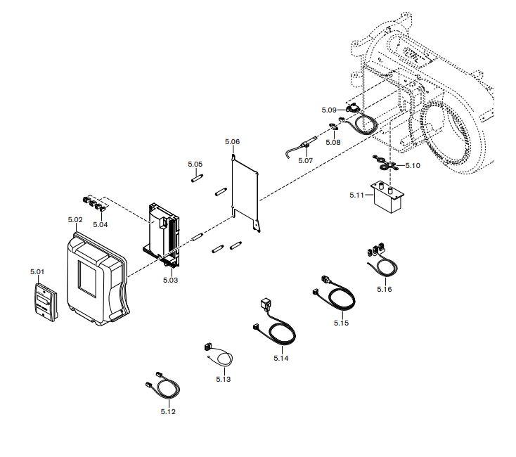 Газовая горелка Weishaupt WM-L 10/1-A T