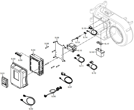 Газовая горелка Weishaupt WM-L 10/4-A R