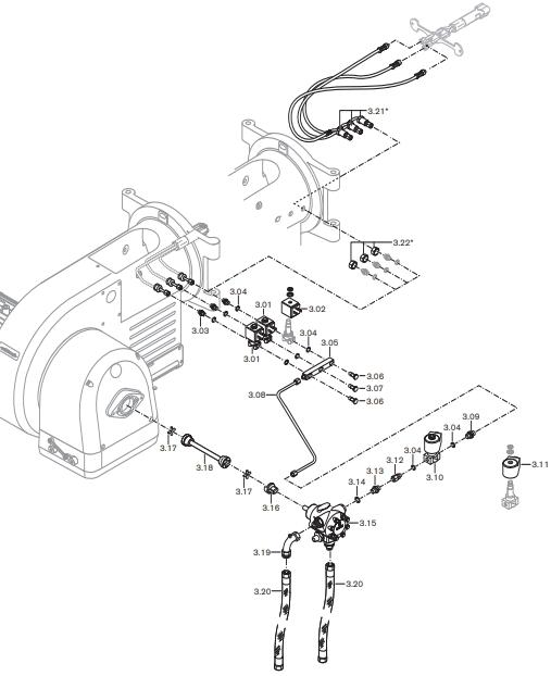 Газовая горелка Weishaupt WM-L 20/2-A T