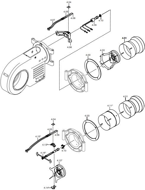 Газовая горелка Weishaupt WM-L 30/2-A T