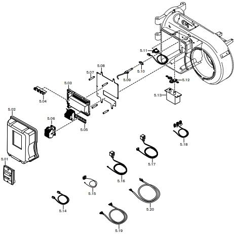 Газовая горелка Weishaupt WM-S 10/1-A Z