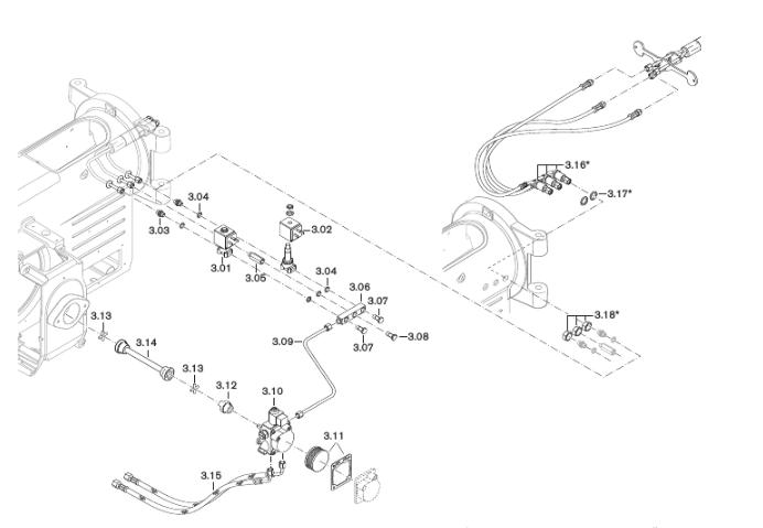 Газовая горелка Weishaupt WM-S 10/4-A T